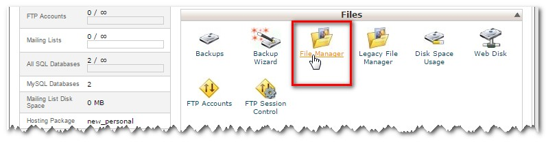 cpanelfilemanager