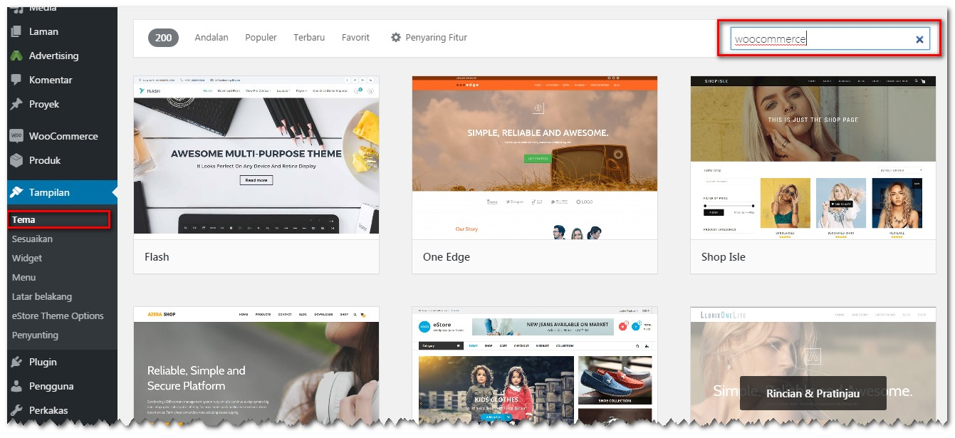 membuat toko online dengan wordpress