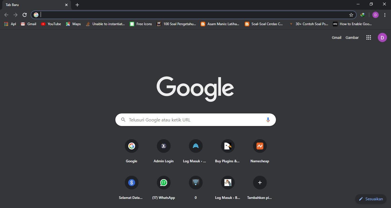 Cara Membuat Mode Gelap Di Semua Website Di Google Chrome Mbah Wp